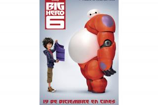 "SER Madrid Norte, DIAL Madrid Norte y Yelmo Cines Plaza Norte 2 te invitan al preestreno de ""Big Hero 6"""