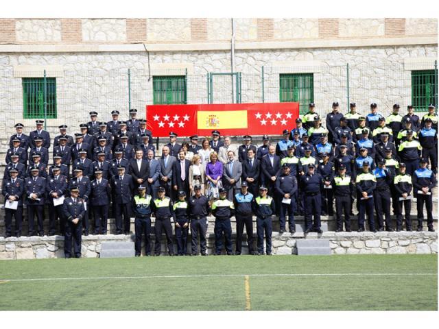 M s agentes y polic as ascendidos ser madrid norte for Trabajo en alcobendas y san sebastian de los reyes