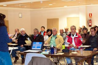 Mataelpino acoge un encuentro de usuarios de vías pecuarias para analizar su situación