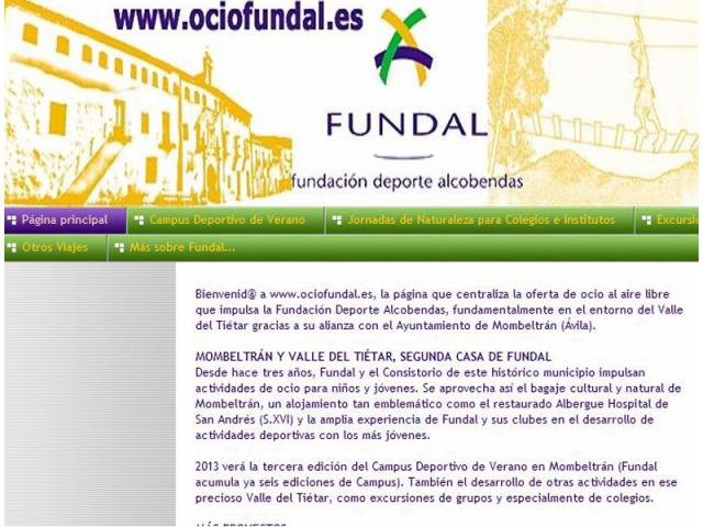 Fundal estrena nueva web sobre sus ser madrid norte for Noticias naturaleza