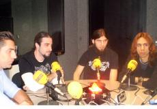 El metal extremo de Disarmed en Hoy por hoy Madrid Norte