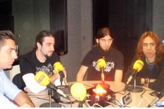 El metal extremo de Disarmed en Hoy por hoy Madrid Norte.