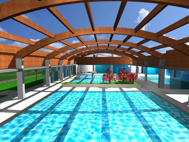la piscina cubierta del sector islas de ser madrid norte
