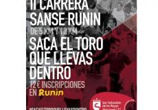El 30 de agosto se celebrará la segunda edición de Sanse Runin, una original y pionera carrera popular