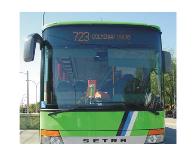 colmenar viejo autobuses: