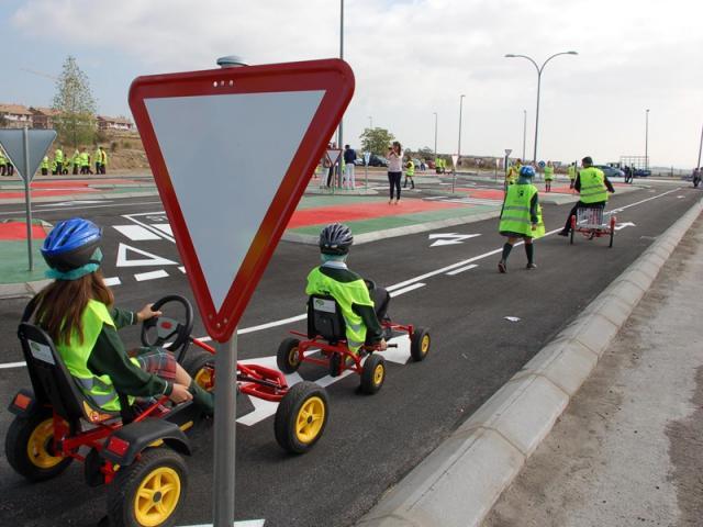 Circuito Vial : Colmenar viejo inaugura su propio ser madrid norte