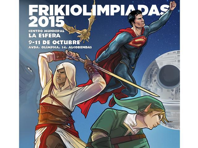 Fin de semana de Frikiolimpiadas en La Esfera de Alcobendas 86212fc56faa