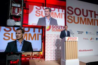Espacio para Emprendedores: Optimismo y confianza en el futuro de los emprendedores, en el South Summit