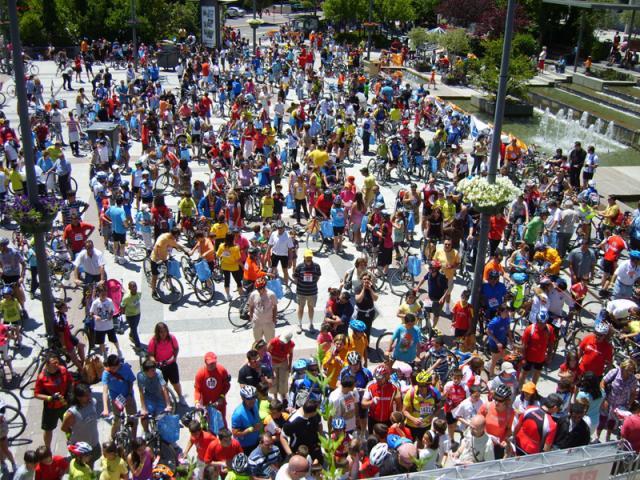 Cientos de personas disfrutan en ser madrid norte - Fiestas en alcobendas ...